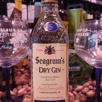 Seagram dry ginebra premium